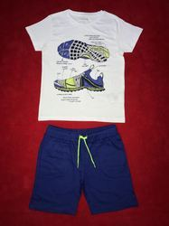 Boys Set Heavy Fabric Shorts