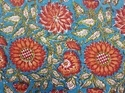 Indian Vintage Mugal Buta Block Print Fabric