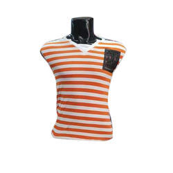 Casual Wear Mens Lining Strip TShirt
