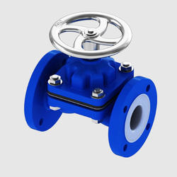 Refineries PFA Lined Diaphragm Valve