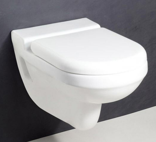 Cera Wall Mounted Commode