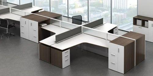 plywood modern modular office furniture rs 1000 square feet rh indiamart com modern modular office tables modern modular office furniture systems