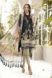 Cotton Unstitched Pakistani suits, Handwash
