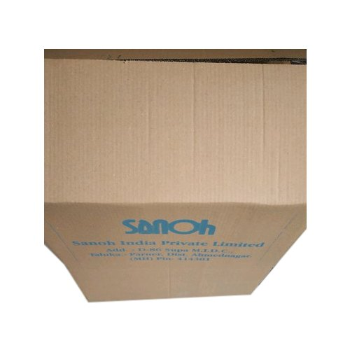 3 Ply Printed Corrugated Box, Gsm: 100-230, for Packaging Purpose