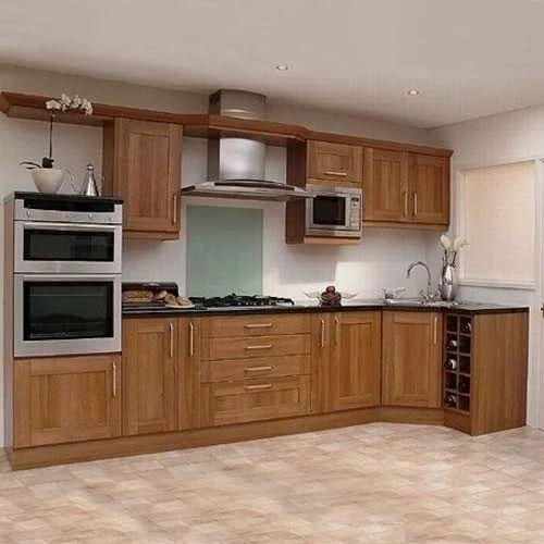 Laminated Modular Kitchen At Rs 1400 Square Feet: Modern Trendz Modular Kitchen Cabinet, Rs 950 /square Feet