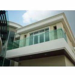 Terrace Glass Railing