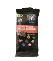Super Food Bar Amaranth Cranberry