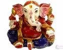 Rasin Gaddi Ganesha Statue Indian God Idol Statue