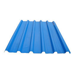 Steel / Stainless SteelGreen Corrugated Roofing Sheets, Thickness: : 0.50 and 0.60 Milimeter