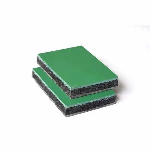 Green PU Sport Mat