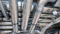 Electric Round HVAC Duct