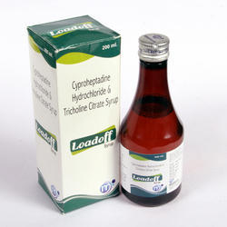 Cyproheptadine Hydrochloride Tricholine Citrate Syrup