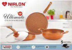 NIRLON Ultimate 4pcs Cookware Set