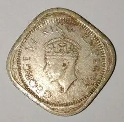 Old Indian Coin And 1936 One Quarter Coper Coin 5t George King Service Provider Jhuma Xerox