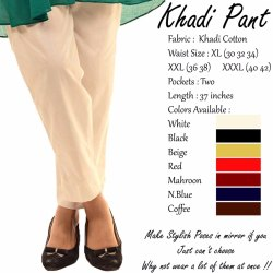 Khadi Pant