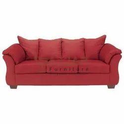 Gajjar Furniture Wooden Living Room Three Seater Sofa