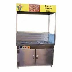Stainless Steel Catering Butter Sweet Corn Counter, For Hotel, Catering Party
