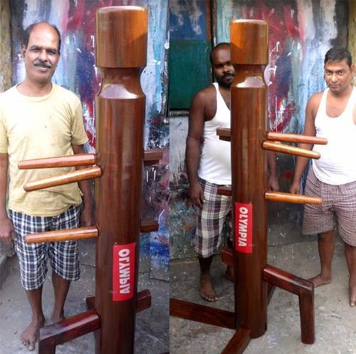 Wooden Wing Chun Dummy (ip Man Model) Muk Yan Jong