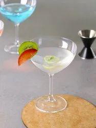 Transparent Crystal Margarita Glass