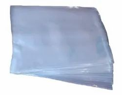 Plain White Crystal Clear Polypropylene Covers