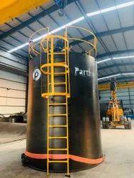 HDPE SPIRAL DEF Storage Tank