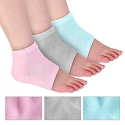 Moisturizing Gel Heel Socks For Dry Hard Crack