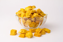 Natural Freeze Dried Mango Flakes, Packaging Type: 3 LAYER ALU PACKING, Packaging Size: Bulk