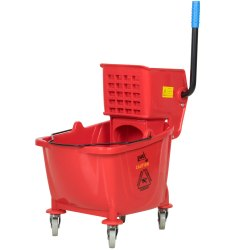 Plastic Multicolor Wringer Trolley