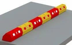 Plastic Round Bus Lane Divider