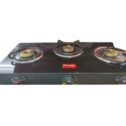 Lpg Prestige 3 Burner Gas Stove, For Kitchen