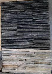 Black & White Stone Waterfall Panel