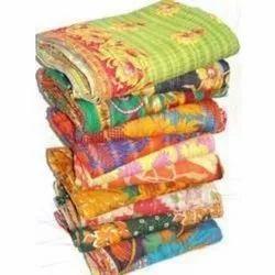 Bedding Vintage Kantha Quilt
