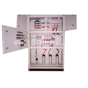 Mild Steel Three Phase Manual Electrical Control Panel