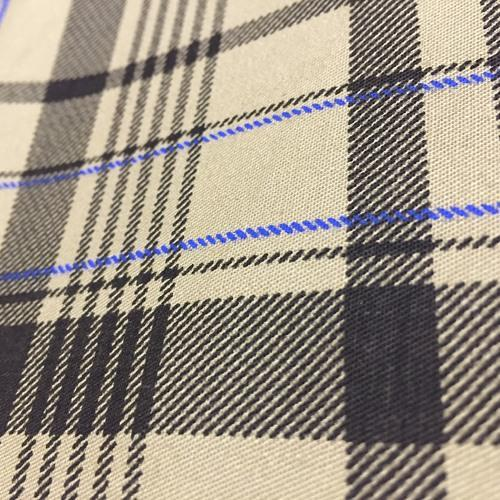 Check Yarn Dyed Woven Shirting Fabric, GSM: 100 to 250