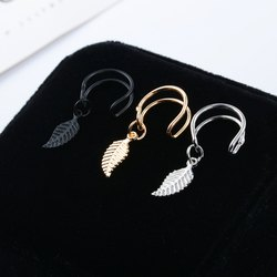 Multicolor Brass Leaf Ear Cuff, For Daily use