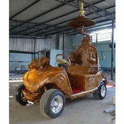 电池运行的Chariot推车