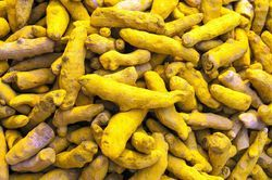 Surendraray Yellow Turmeric Finger, 25 Kg, Packaging: New Singe Jute Bags