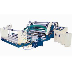 Fabric Rewinding Machine