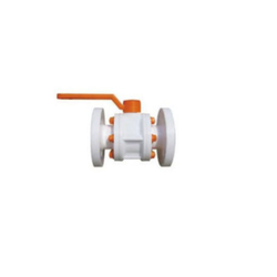 PP Ball Valves Flange End