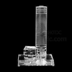 Corporate Building Crystal Miniatures