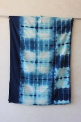 Indigo Bagru Printed Cotton Fabric