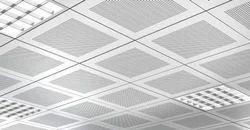 Steel / Stainless Steel Grid False Ceiling