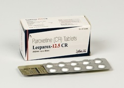 Paroxetine Hydrochloride 12.5 mg Tablets