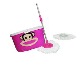 Monkey Bucket Spin Mop