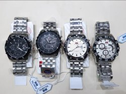 Black Rubber Mens Fashion Watches, Packaging Type: Box