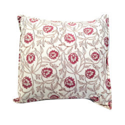 Linen Printed N-101 Cushions Cover For Home, Size: 16 X 16 Inch