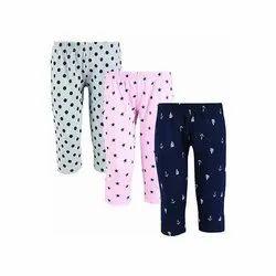 Casual Wear Girl & Boy Kids Cotton Lower