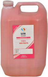 Red Organic Pigment Paste
