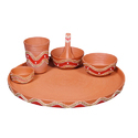 Decorative Clay Dinner Set