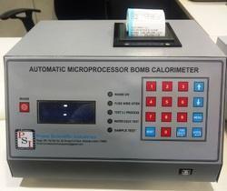 Microprocessor Automatic Bomb Calorimeters